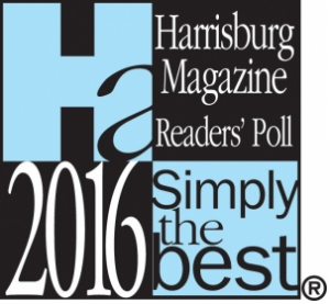 Simply the Best Lawyer Attorney as voted by readers of Harrisburg Magazine.