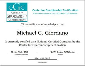 Professional Guardian
